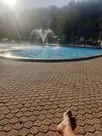 Zwembad in de Leemkule