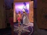 Elsa Frozen meet and greet Lynn & Megan
