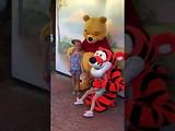 Megan & Lynn meet and greet Tiger en Pooh @ Disney's Magic Kingdom Orlando Florida