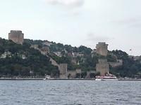 Kasteel van Roemenië aan de Bosporus.