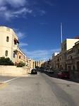 Straat in San Gwann