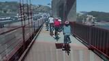 Golden Gate Bridge by bike