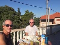 Ontbijtje in de zon