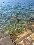 Prachtig helder water (met hier en daar vervuiling!)