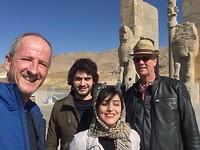 Onze vrienden uit Shiraz.