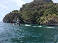 Op weg naar Koh Phi Phi Leh