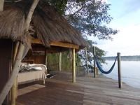Ons romantische 'Tree House' aan de Okavango