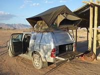 Onze Toyota met daktent
