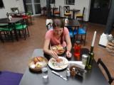Eten in Xela met Tamara