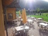 Het terras bij Bella austria