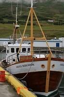 De vissersboot van pa