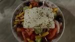 De eerste Griekse salade!