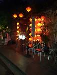Ook de winkels in Hoi An zijn verlicht met mooie lampions