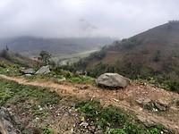 Uitzicht onderweg tussen Lao Cai en Sa Pa