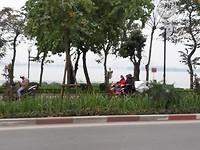 Het Westlake, een groot meer in het noorden van Hanoi