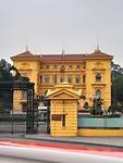 Het presidentieel paleis in Hanoi