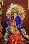 Kleurrijke tempelbeelden