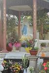 Mariabeeld bij de RK-kerk in Ho Chi Minh City