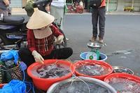 Straatmarkt in Ho Chi Minh City