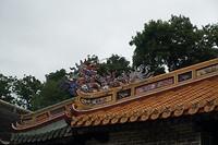 Dakrand op het grafcomplex van keizer Tu Duc