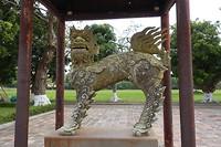 Beeld in de Citadel van Hue