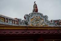 Dakrand in de Citadel van Hue