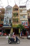 Straatbeeld in Hue