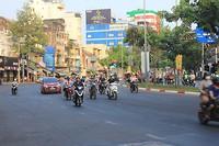 Straatbeeld in Ho Chi Minh City