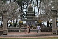 Bij de Thien Mu pagode