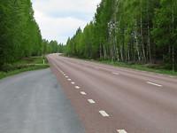 Stille wegen in Zweden