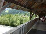 Overdekte brug over de Inn