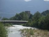 De Adige wordt breder en breder