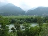 Blijft langs de Adige fietsen