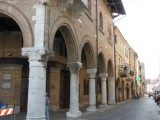 Montagnana, een echt oude stad, 1400.