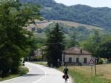 De eerste blik op de Apennijnen