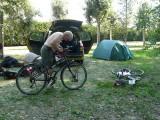 Nog een demontage van een fiets