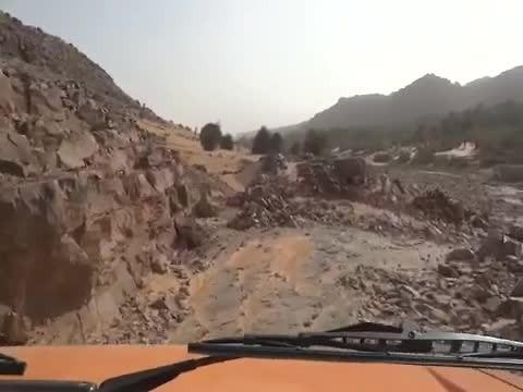 Afdaling naar Oase, Mauritanie