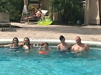 Swimming pool fun