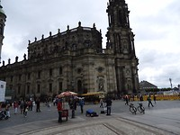 Soms alleen maar zwart in Dresden