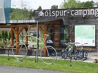 Ölspur camping en fietsroute