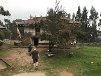 Rondleiding op de Entoto Hill
