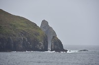 Kaap Horn met zijn rotspartijen