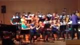 Het Festivalorkest met onze Babette😊