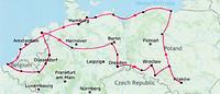 blog kaart reis Polen