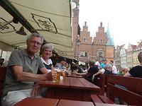 Wroclaw Rynek terras