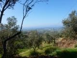 Uitzicht vanaf de Monti Sabini