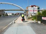 Weg fietspad...