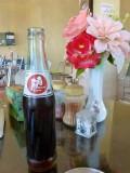 Hele aardige coca cola imitatie