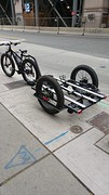 How to transport bikes with a bike