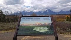 Teton park mountains